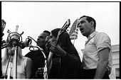 view <I>Peter, Paul, and Mary Singing with Harry Belafonte, Oscar Brand, and Joan Baez</I> digital asset number 1
