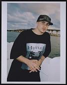 view Photograph of Pitbull on the Venetian Bridge, downtown Miami digital asset number 1