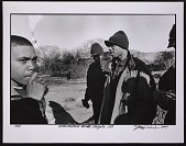 view Photographic print of Nas and friends at Queensbridge Houses digital asset number 1