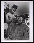 view Photograph of Big Daddy Kane getting a shape up digital asset number 1