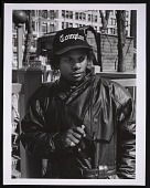view Photograph of Eazy-E in Union Square, NYC digital asset number 1