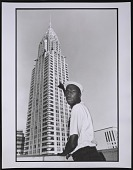 view Photograph of Grandmaster Flash at the Chrysler Building, NYC digital asset number 1