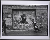 view Photograph of the Tupac memorial mural on Houston Street in NYC digital asset number 1