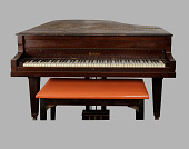 view Piano from Pilgrim Baptist Church used by Thomas Dorsey digital asset number 1