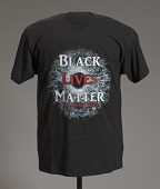 view T-shirt featuring Black Lives Matter graphic digital asset number 1