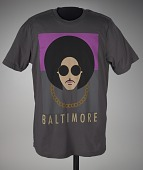 view T-shirt from the Prince Rally 4 Peace concert in Baltimore digital asset number 1