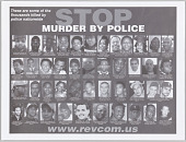 view Posters with STOP MURDER BY POLICE message digital asset number 1