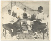 view Photograph of B.C. Franklin, I.H. Spears, and Effie Thompson digital asset number 1