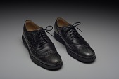 view Shoes worn by Dr. Jamal Harrison Bryant to a protest in Ferguson, Missouri digital asset number 1