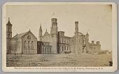 view Carte-de-visite of the Smithsonian Castle digital asset number 1