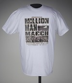"""view T-shirt stating """"Justice...or Else!"""", worn at MMM 20th Anniversary digital asset number 1"""