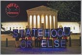 """view Postcard calling for """"Statehood or Else"""" in DC digital asset number 1"""