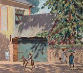 view <I>Haitian Street Scene</I> digital asset number 1