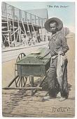 view Postcard of a fish dealer digital asset number 1