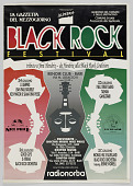 view Poster for a Black Rock festival in Italy digital asset number 1