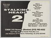 view Poster for Stalking Heads 2 concert digital asset number 1