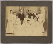 view <I>Class of 1892 Oberlin Academy Preparatory School</I> digital asset number 1