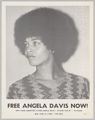 view Poster advocating for Angela Davis digital asset number 1