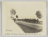 view <I>367th Inf 92nd Div. On way to Marbache Mthe et Moscelle, Oct. 12, 1918</I> digital asset number 1
