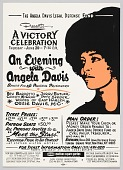 view Flyer Advertising an Evening with Angela Davis digital asset number 1