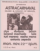view Flyer advertising Astracarnaval digital asset number 1