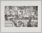 view Print of an anti apartheid protest digital asset number 1
