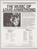 view Flyer advertising a concert featuring the New York Jazz Repertory Company digital asset number 1