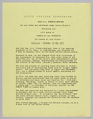 view Flyer announcing a speech by Dean G.A. FFrench-Beytagh digital asset number 1