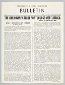 view <I>Tri-Continential Information Center Bulletin Vol. 1 No. 8</I> digital asset number 1