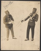 view Photograph of a trumpet player and a trombone player digital asset number 1