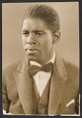 view Gelatin silver print of of Roland Hayes digital asset number 1