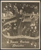view Gelatin silver print of Jimmie Gorham and his Orchestra digital asset number 1