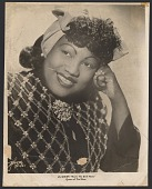 view Gelatin silver print of Lil Green, Queen of The Blues digital asset number 1