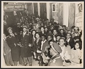 view Gelatin silver print of a crowd at the Apollo Theater digital asset number 1