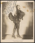 "view Gelatin silver print of Rosita ""Chicken"" Lockhart with autograph digital asset number 1"