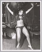 view <I>Exotic Dancer, name unknown, c. mid 1950s</I> digital asset number 1