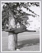 view <I>Modern dancer in the park, name unknown, c. 1970s</I> digital asset number 1