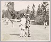 view <I>Father and daughter on the links, Northern California, c. 1970s</I> digital asset number 1