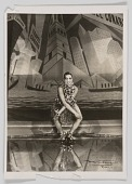 view Photographic print of Josephine Baker performing at the Folies Bergère digital asset number 1