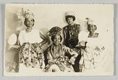 view Souvenir du Carnival, Photograph of French Antillean dress digital asset number 1