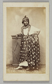 view Photograph of unidentified woman wearing French Antillean dress digital asset number 1