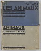 view <I>Les Animaux vus par les Meilleurs Animaliers: Volume 2 Animaux Stylises Poils</I> digital asset number 1