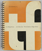 view <I>Art Director's Work Book of Type Faces</I> digital asset number 1