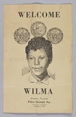 view Souvenir program for Wilma Rudolph Day digital asset number 1