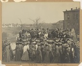 view Photograph of the 25th anniversary of the founding of Tuskegee Institute digital asset number 1