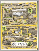 "view Poster reading ""Solidarity"" used at Ferguson protests digital asset number 1"