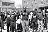 view Digital image of members of 300 Men March digital asset number 1