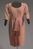 view Peach dress and belt worn by Oprah Winfrey on The Oprah Winfrey Show digital asset number 1