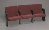 view Audience chairs from the set of The Oprah Winfrey Show at Harpo Studios digital asset number 1