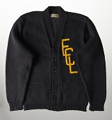 view Wool sweater for the Eastern Colored League digital asset number 1